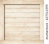 side of brown wooden crate  box ... | Shutterstock . vector #627211595