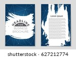 abstract vector layout... | Shutterstock .eps vector #627212774