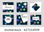 abstract vector layout...   Shutterstock .eps vector #627214949