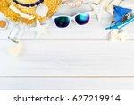 Summer Beach Accessories  White ...