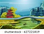 vector illustration of... | Shutterstock .eps vector #627221819