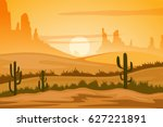 vector illustration of natural... | Shutterstock .eps vector #627221891
