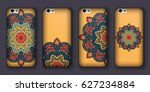 phone cover collection  boho...   Shutterstock .eps vector #627234884