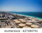 dubai. in the summer of 2016.... | Shutterstock . vector #627284741