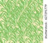 corn field seamless pattern.... | Shutterstock .eps vector #627291779