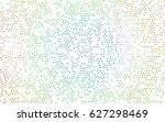 light multicolor  rainbow... | Shutterstock .eps vector #627298469