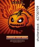 halloween pumpkin   Shutterstock .eps vector #62730709