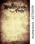 halloween party background... | Shutterstock . vector #62733559