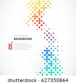 abstract background with... | Shutterstock .eps vector #627350864
