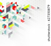 abstract mosaic background   Shutterstock .eps vector #627350879