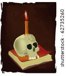 Skull  The Book And Candle