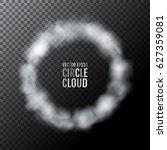 half transparent vector circle... | Shutterstock .eps vector #627359081