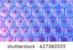 stem cell colony  3d rendering | Shutterstock . vector #627383555