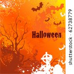 background on halloween with... | Shutterstock .eps vector #62738779