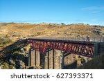 otago rail trail bridge | Shutterstock . vector #627393371