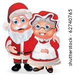 Santa Claus And His Wife Mrs...