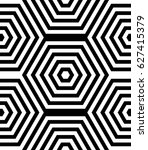 seamless pattern with black... | Shutterstock .eps vector #627415379