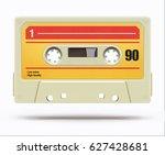 vector illustration of vintage... | Shutterstock .eps vector #627428681