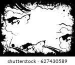 grunge frame. vector...   Shutterstock .eps vector #627430589