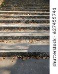 stair way up to the bridge  | Shutterstock . vector #627455741