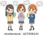 japanese school girls are using