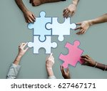 togetherness connection... | Shutterstock . vector #627467171