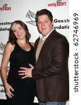 "Small photo of LOS ANGELES - OCT 9: Derk Cheetwood & Wife arrives at the ""Evening WIth the Stars 2010"" benefit for the Desi Geestman Foundation at Farmer's Market.Theatre on October 9, 2010 in Los Angeles, CA"