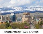 boise  idaho skyline | Shutterstock . vector #627470705