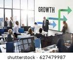 business team meeting... | Shutterstock . vector #627479987