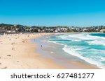 bondi beach in sydney  australia | Shutterstock . vector #627481277