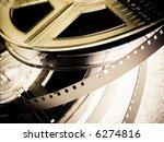 film reels closeup   Shutterstock . vector #6274816
