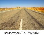 outback road | Shutterstock . vector #627497861