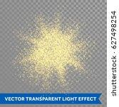 gold glitter powder explosion....   Shutterstock .eps vector #627498254
