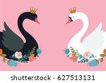 Swan Lake  Illustration ...