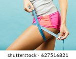 time for diet slimming weight... | Shutterstock . vector #627516821