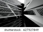 abstract white interior of the... | Shutterstock . vector #627527849