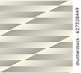 seamless horizontal stripe... | Shutterstock .eps vector #627528449