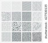 set of grange patterns. simple... | Shutterstock .eps vector #627530135
