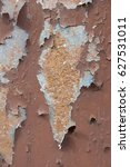 corroded white metal background.... | Shutterstock . vector #627531011