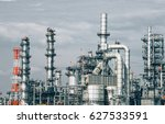 industrial zone the equipment... | Shutterstock . vector #627533591