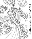 vector illustration of fairy...   Shutterstock . vector #627566741