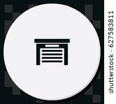garage icon. | Shutterstock .eps vector #627583811