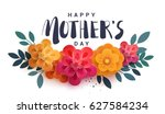 Happy Mother\'s Day Lettering O...