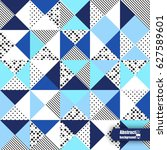 abstract background with... | Shutterstock .eps vector #627589601