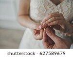 gentle hugs and touching men... | Shutterstock . vector #627589679