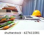 property engineering contractor ... | Shutterstock . vector #627611081