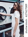 streetstyle  fashion. teenager... | Shutterstock . vector #627627089