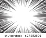 background of radial lines for... | Shutterstock .eps vector #627653501