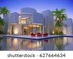 3d rendering of an original... | Shutterstock . vector #627664634