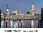 medina  kingdom of saudi arabia ... | Shutterstock . vector #627669731